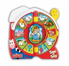 Lovely Kids Fisher-Price See 'N Say Farmer Says image 3