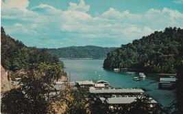 Maywalds Dale Hollow Dock Celina Tennessee TN Lake Postcard B27 - $4.49