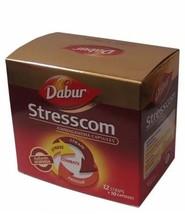Stresscom Ashwagandha120 Capsules Dabur  for Anxiety, Stress & Fatigue - $23.18