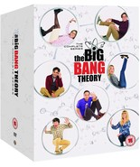 The Big Bang Theory Complete Series Season 1 - 12 Collection DVD New Region 2 - $89.95