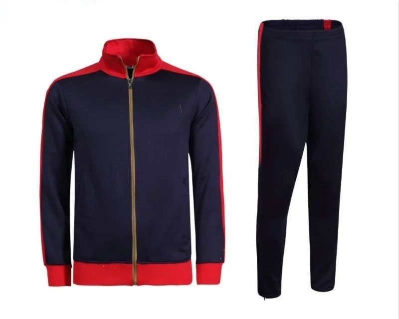 1617Arsenal red coat Men's Spring and Autumn football suits  tracksuits long sle