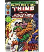 Marvel Two-In-One Comic Book #59 The Thing & Human Torch Marvel 1980 VER... - $2.75