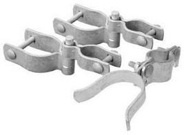 Galvanized Chain Link Walk Gate Hardware Set, 2-3/8 In. - $20.78