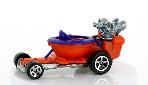 Vintage Loose Hot Wheels Mainline Orange Hot Seat Toilet Go Cart