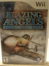 Blazing Angels  Squadrons of WWII Nintendo Wii  2007 T Teen image 1