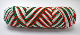 Red Heart Christmas Multicolor Ombre Acrylic Yarn - 1 Skeins Red Green White  - $9.45