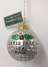 Golf Ball Ornament (K) - $15.00