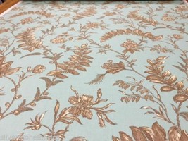 Beacon Hill Upholstery Fabric Sweetbay Spark Patina Linen BTY 222539 CM1 - $28.50