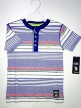US POLO KIDS TSHIRTS (8Y, MULTI STRIPES) - $9.79