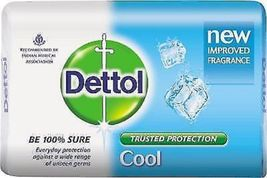 DETTOL COOL SOAP GIVES PROTECTION FROM UNSEEN GERMS 75 GM X 3 pack* image 5