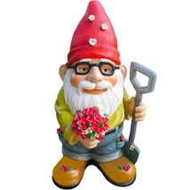 Twig & Flower The Beautiful Gift of Flowers Gnome - 9.5 Inches Tall - Ha... - $43.27