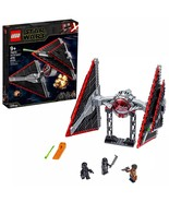 Brand New LEGO Star Wars Sith TIE Fighter 75272 Collectible Building Kit - $72.59