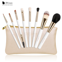8pcs brush set beauty essentials makeup brushes with make up bag - $26.99