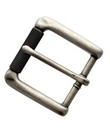 """Antiqued Finish Single Prong Roller Replacement Belt Buckle, Fits 1-3/8""""... - $8.95"""