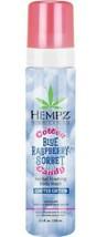 Hempz Cotton Candy Blue Raspberry Sorbet Herbal Foaming Body Wash 8.5 Li... - $16.95