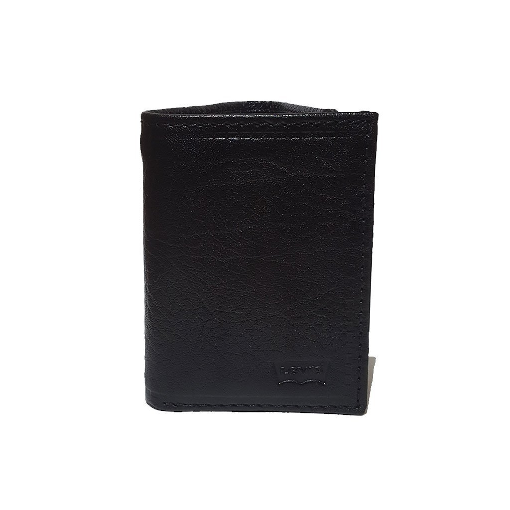 Levi's® 31LV110022 men's RFID trifold leather wallet black one size image 4