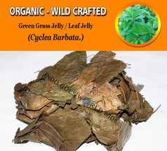 Green Grass Jelly Leaf Jelly Cyclea Barbata Organic Wild Crafted Herbs F... - $12.40+