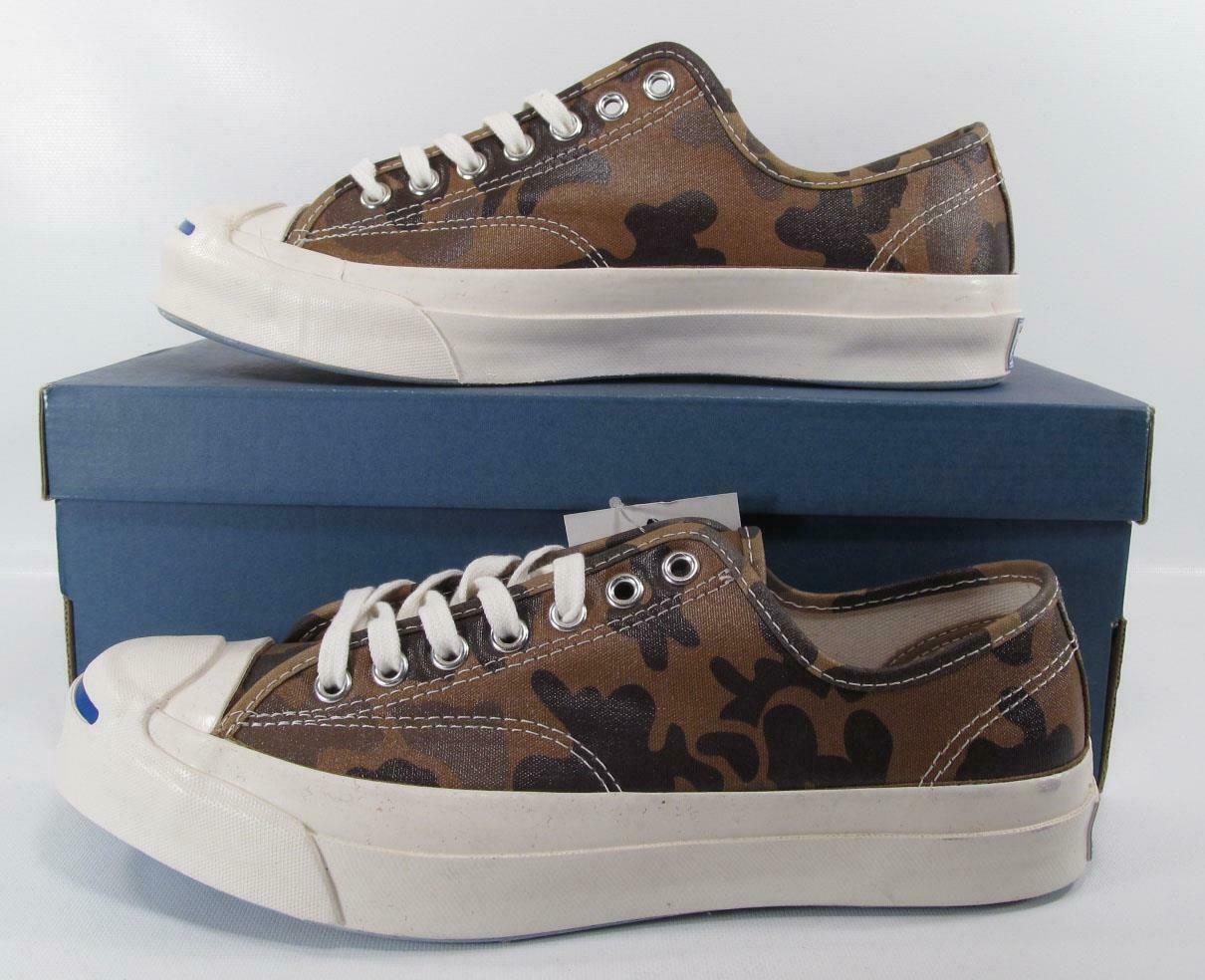 Converse Jack Purcell Signature Ox SAND DUNE CAMO Waxed Nylon 151457C (7 MEN)