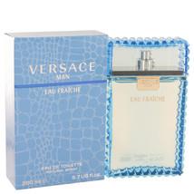 Versace Man Eau Fraiche Cologne 6.7 Oz Eau De Toilette Spray image 6