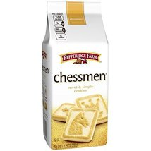Pepperidge Farm, Chessmen, Cookies, 7.25 oz., Bag, 24-count image 2