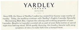 Yardley London English Lavender with Essential Oils Soap Bar, 4.25 oz Ba... - $26.23