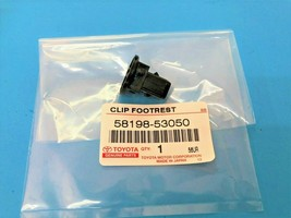 1PC PACK GENUINE LEXUS IS300 & LX470 CLIP FOOTREST NO-1 FRONT FLOOR 5819... - $9.73