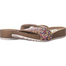 Anne Klein ktee Slip On Flat Sandals, Rainbow 643, Rainbow, 6 US - $23.03