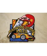 Cub Scout Scouting Pinewood Derby Racer Car Helmet Boy Scout Patch BSA - $9.88
