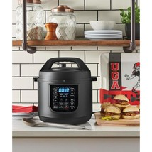 6 Qt. 9-in-1 Multi Function Pressure Cooker with Sous Vide in Matte Black