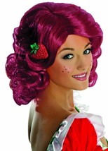 Strawberry Shortcake Wig Secret Wishes Fancy Dress Halloween Costume Accessory - $30.69