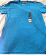 New GOLDTOE Softstyle Blue Short T-Shirt Men's Sz Small S (34-36) Free S... - $9.50