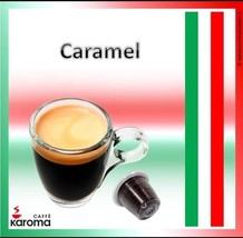 200 Italian Capsules Compatible Nespresso Machines! (Creamy Caramel)! Ka... - $69.04