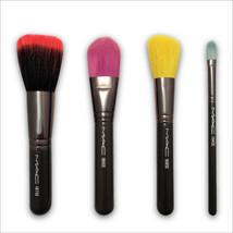 MAC Multi-Color 4 Brush Set - 168SE, 187SE, 190SE, 194SE  - $69.30