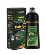 500ml Augeas Herbal 3 IN 1 Hair Dye Shampoo (Black) EXPRESS SHIPPING DHL - $48.90