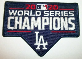 """Los Angeles Dodgers~2020 World Series~Embroidered Patch~4"""" x 2 7/8""""~Iron Sew On - $5.23"""