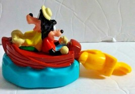 1995 Burger King Kids Club Disney Goofy and Max Gone Fishing Wind-up Toy - $9.49