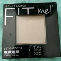 Maybelline New York Fit Me 125 Nude Beige Set and Smooth Pressed Powder  - $3.00