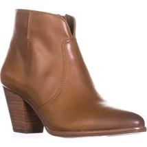 FRYE Jennifer Bootie Short Cowboy Boots, Cognac, 6.5 US - $101.75