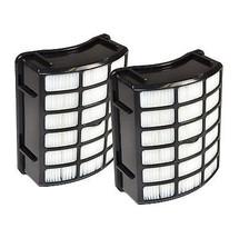 2x Hqrp Post Motor Hepa Filters For Shark Navigator XHF80, NV70 NV80 NV90 UV420 - $19.74