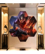 Yasuo League of Legends Wall Art Painting Canvas Poster Decor 7 Hexagon ... - $94.99+