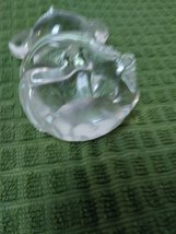 Crystal Clear Blown Glass Mouse Paperweight image 3