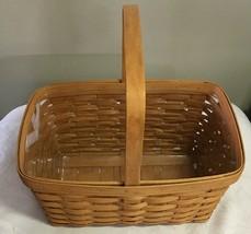 Longaberger - 1996 Medium Market Basket, Stationary Handle - $24.50