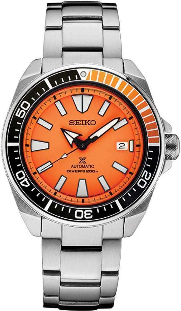 AUTHORIZED DEALER Seiko SRPC07 Samurai Prospex Automatic Stainless Steel Watch