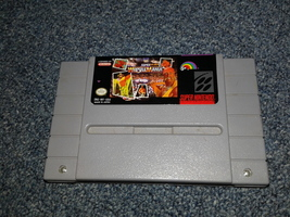 SNES Super Nintendo WWF WRESTLEMANIA Video Ga... - $6.00