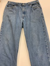 Levis Relaxed Fit Men's Jeans Size 36x30 Red Tab Light Wash Vintage Faded - $17.59