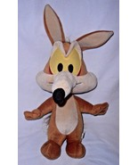 "Baby Looney Tunes Wile E Coyote Plush Stuffed Animal Brown Nanco 14"" - $25.72"