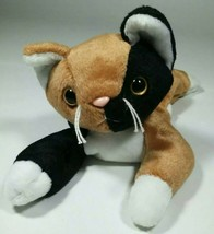 Ty Beanie Baby Chip The Cat Plush Toy 1996 Authentic w/ Tush Tag Stuffed Animal - $7.66