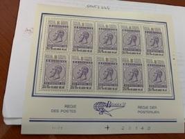 Belgium Belgica72 m/s mnh 1972 #4  stamps - $9.95