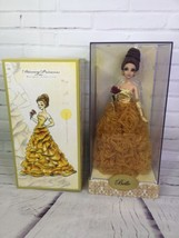 Disney Princess Beauty And The Beast Belle Designer Doll Collection LE L... - $231.41