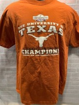 Rose Bowl Game University of Texas 2006 Football Champions T-Shirt Size L - $19.79